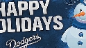 Happy Holidays from the Dodgers
