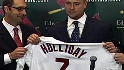 Holliday&#039;s news conference