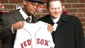 Beltre introduced in Boston