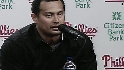 Victorino&#039;s news conference