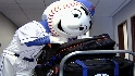 Mr. Met heads south