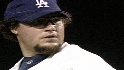 Gagne closing for Dodgers