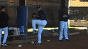 Pitching drills at Padres&#039; camp