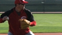Rolen finding stride with Reds