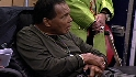 Muhammad Ali visits Padres camp