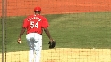 Chapman on first outing