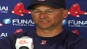 Beckett, Francona on ace's start