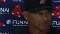 Francona on Lowell and Ortiz