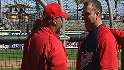 Thome visits former team's camp
