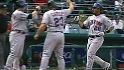 Martinez's three-run dinger