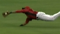 Bourgeois' diving catch