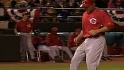 Reds' five-run second