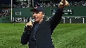 Diamond sings live at Fenway