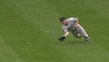 Snider's diving catch