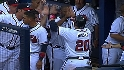 Braves' six-run seventh