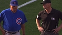 Cubs on short end of call