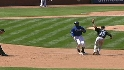 Vlad thrown out at second