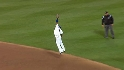 Castillo's leaping grab