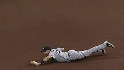 Teixeira's diving grab