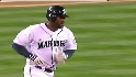 Bradley&#039;s three-run homer