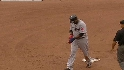 Mauer nails Ortiz at second