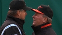 Trembley, ump exchange words