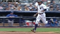 Granderson scores on an error