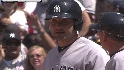Cervelli&#039;s two-run single