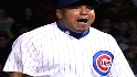 Zambrano gets out of a jam