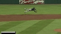 Escobar&#039;s diving catch