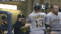 Cedeno's game-tying homer