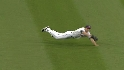 Sizemore's diving grab