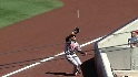 Markakis&#039; great catch
