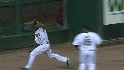 Bourn's flashy grab