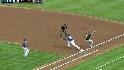 Kinsler&#039;s nice play