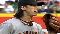 Lincecum strikes out 13