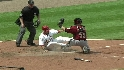 Molina&#039;s cut down at the plate