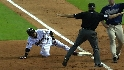 Matsui reaches third on error