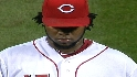 Cueto strikes out seven