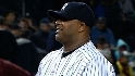 Sabathia strikes out five