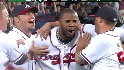 Heyward's walk-off double