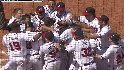 Conrad's walk-off slam