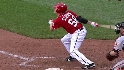 Storen's first career hit