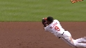 Tejada's diving catch