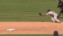 DeWitt's diving grab