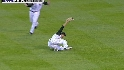 Gonzalez's sliding catch