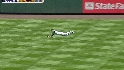 Gonzalez's diving grab