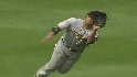 Young's great diving grab