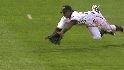 Milledge&#039;s diving catch