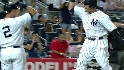 Yanks take the lead on an error